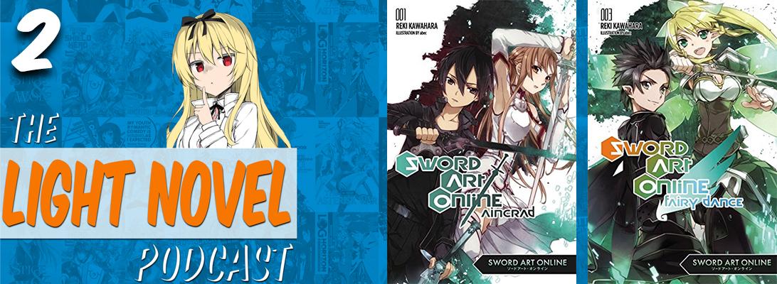 sword art online light novels