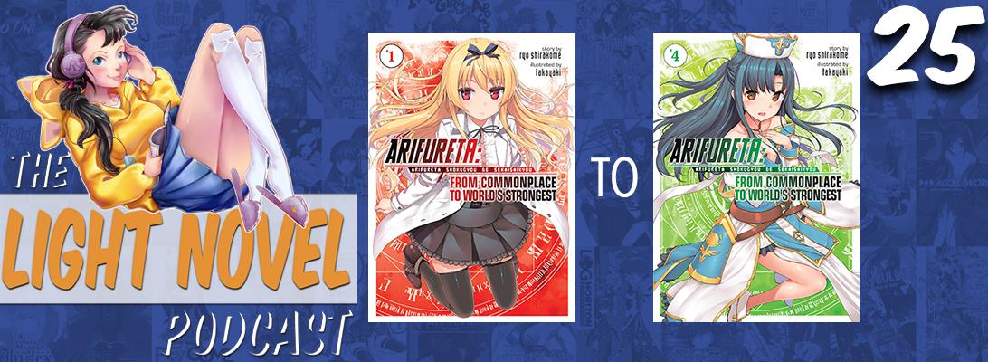 light novel podcast episode 25 arifureta